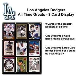 Los Angeles Dodgers Greats Of The Game Trading Card Set