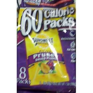 Label Sunsweet 60 Calorie Packs, Pitted Prunes Dried Plums (Pack of 8