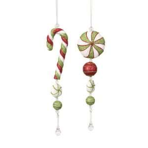 Club Pack of 12 Candy Crush Mint and Candy Cane Drop
