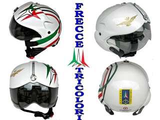 casco pilota TORNADO FRECCE TRICOLORI Bianco