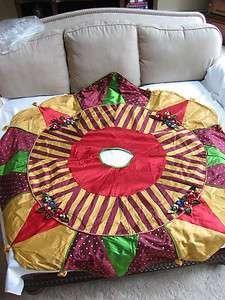 Mackenzie Childs MARZIPAN Extra Large Xmas TREE SKIRT