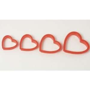 Cookie Cutter Set of 4   Heart Style   Valentine All