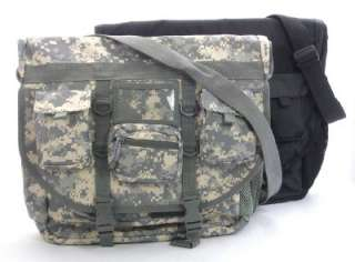 Military Spec Ops Laptop Briefcase Bag Black or Camo