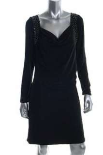 MICHAEL Michael Kors NEW Black Versatile Dress Stretch Embellished XL