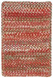 Capel Ocracoke Chenille Braided Area Rug/Pink #525