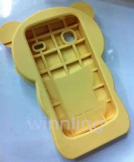 Rilakkuma 3D silicone cover Case For Samsung Galaxy Gio S5660