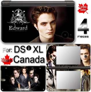 EDWARD TWILIGHT NEW MOON ECLIPSE SKIN COVER DSi XL LL 2