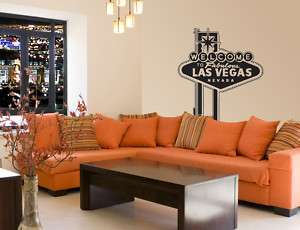 Vinyl Wall Decal   Las Vegas Sign Large