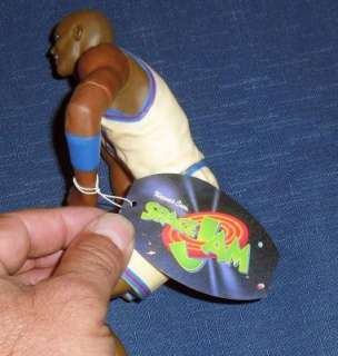 1996 MICHAEL JORDAN SPACE JAM FIGURE TOY DOLL NEW W/TAG