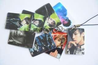 MBLAQ M blaq Korean Band Mobile /Cell Phone Strap Keychain Keyring N6