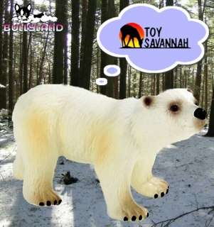 BULLYLAND Wild Life POLAR BEAR CUB 63538 BRAND NEW