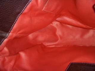 COACH 8A39 XL BROWN PEBBLED LEATHER CHELSEA PURSE/SHOULDERBAG