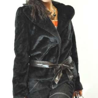 SWM Womens NWT Fashion Faux Fur Jacket Coat Shirts Tops