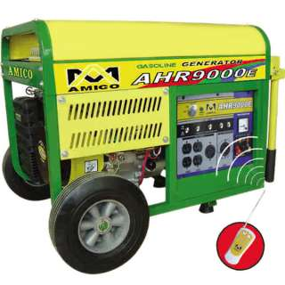 8500 Watt Gas Portable Generator w/ Electric Start Remote Control