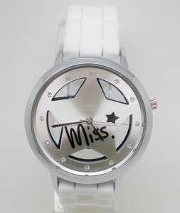 White Star Design Quartz Men/Womens Fashion Sport Wrist Watch with