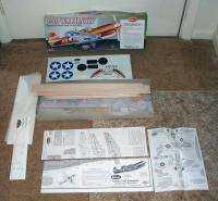 Guillows P 40 Warhawk Authentic Scale Flying Balsa Airplane Model Kit