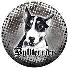XXL Aufkleber Französische Bulldogge French Bulldog Sticker weiss