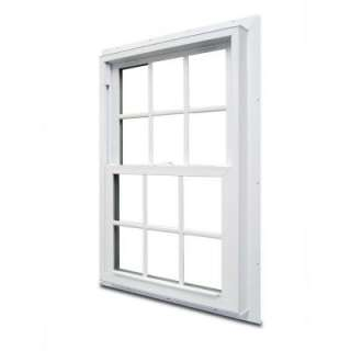Vinyl Windows, 34 1/4 In. X 41 1/4 In., White, 3000