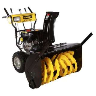30 in. 11 HP Commercial Duy wo Sage Gas Snow Blower wih Elecric