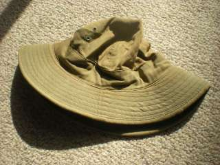 WW2 us ARMY daisy mae uniform cap HBT hat circa 1941