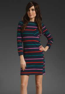 MARC BY MARC JACOBS Mallory Stripe Jersey Dress in Total Eclipse at
