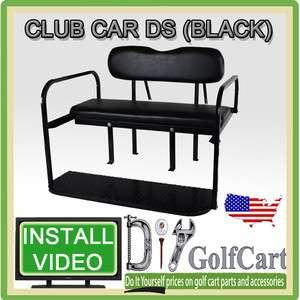Club Car DS Golf Cart Rear Stationary Seat Kit   4 Passenger Back Seat