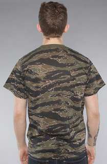 Rothco The Tiger Stripe Camo Tee in Olive Camo  Karmaloop