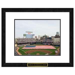 MLB Minnesota Twins   Target Field Memorabilia Print 845033010196