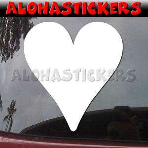 HEART HEARTS Vinyl Decal Playing Cards Car Sticker M88