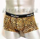 MV New Men Sexy Leopard Underwear Boxers Mens Shorts Briefs M071A XL