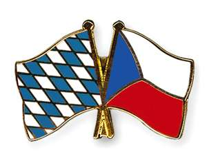Bayern Tschechische Republik Pin Badge Anstecker Button
