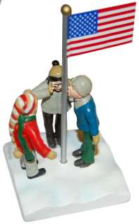 Christmas Story Figural Statue Flick On Flagpole *New*