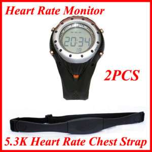 Wireless Heart Rate Monitor Sport Watch + Chest strap