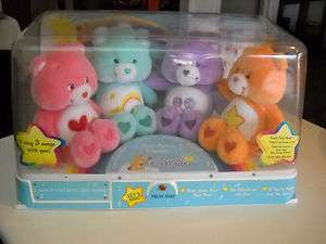 Friends CARE BEARS 4 bear talking STORE DISPLAY still works