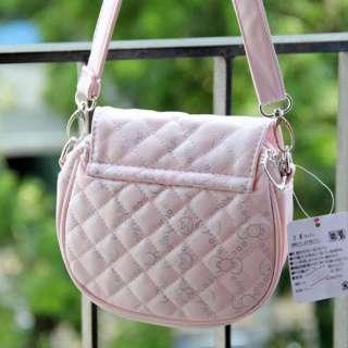 HelloKitty Mini Shoulder Bag Messenger Bag Purse Pink