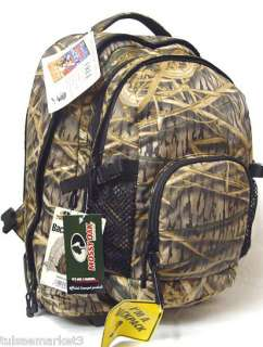 New Mossy Oak Shadow Grass Backpack Daypack Wheels 2in1
