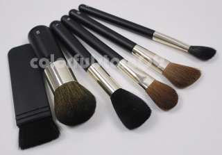 New 22 Pc Pro Deluxe Make up Brush Set Black