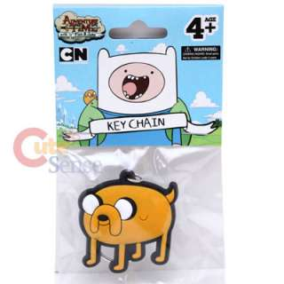 Adventure Time Finn & Jake Rubber Key Chain  Jake