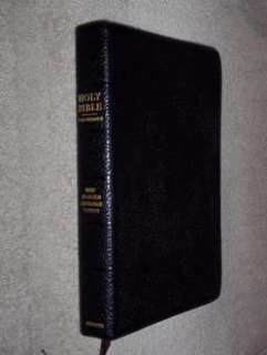 1967 New Scofield Reference Edition Bible KJV GENUINE LEATHER COWHIDE