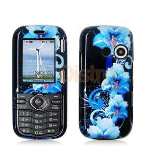 Blue Flower Case Skin Cover for LG Cosmos / Rumor 2 II