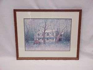 Springfield OH Pennsylvania House Thomas Harwood Litho