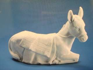 Avon 1985 Porcelain Nativity Figurine Donkey New Burro