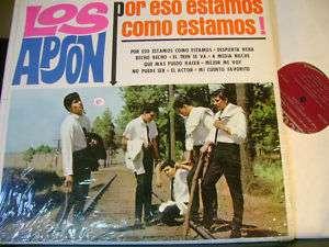 MINT TEX MEX GARAGE SOUL LP~LOS APSON~POR ESO COMO~HEAR