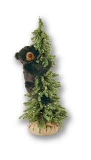 40 Ditz Pre Lit Christmas Tree with Black Bear