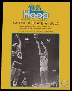 1978 San Diego St   UCLA Basketball Program Tony Gwynn