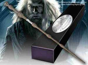 Harry Potter Wand of Albus Dumbledore & Name Clip Stand