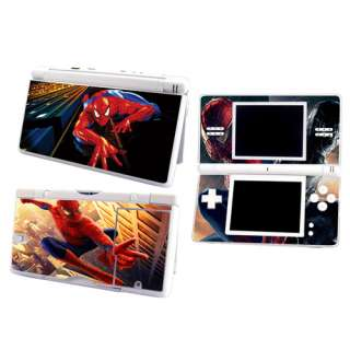 Spiderman Skin sticker Decal for Nintendo DS Lite