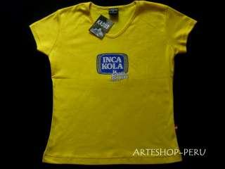 INCA KOLA   das Kult T Shirt aus PERU   Damen Gr. XL