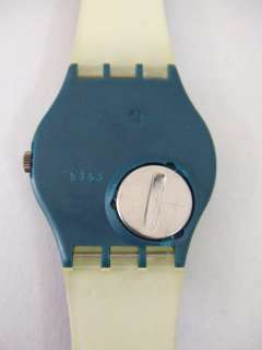 GG119 New Swatch 1992 Palco Melody Note Colorful Gold