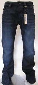 DIESEL RUKY 73N JEANS BOOTCUT NAVY BLUE MEN $170 BNWT